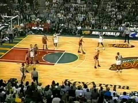 Steve Scheffler Gets Some Burn in the '96 Finals