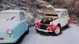2CV: A tale of snow and rear brake pipes