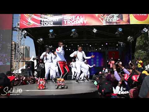 willy paul live at the official Kenya FIFA World Cup TOUR part 1.. killer performance