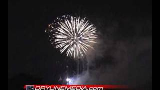 July 4th, 2009 Fireworks from Lubbock, Texas