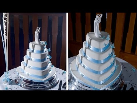 heart shaped wedding cake images 4 tier shaped wedding cake 15158