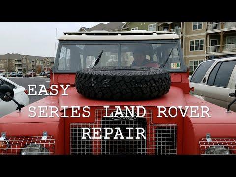 Video 5 - Series IIA Land Rover (Windscreen Washer)