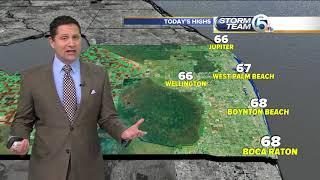 South Florida Friday morning forecast (1/19/18)