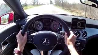 2014 Mercedes-Benz CLA250 - WR TV POV Test Drive
