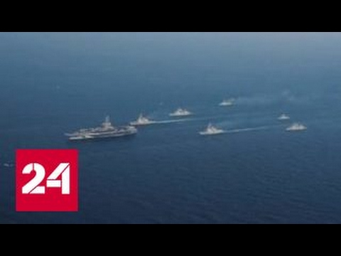 США развернули к берегам Кореи авианосец Карл Винсон