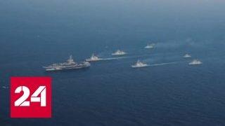 США развернули к берегам Кореи авианосец