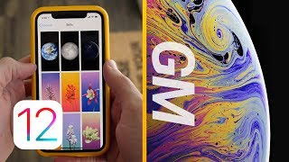 iOS 12 GM Released & Official iPhone XS Wallpapers!