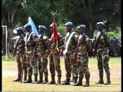 General Fodé Cassama na Libéria (Missão do ONU