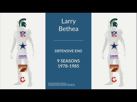 Larry Bethea: Football Defensive End and Defensive Tackle