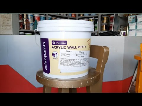 Acrylic Wall Care Putty Latest Asianpaints Latest Wall Care Putty Youtube