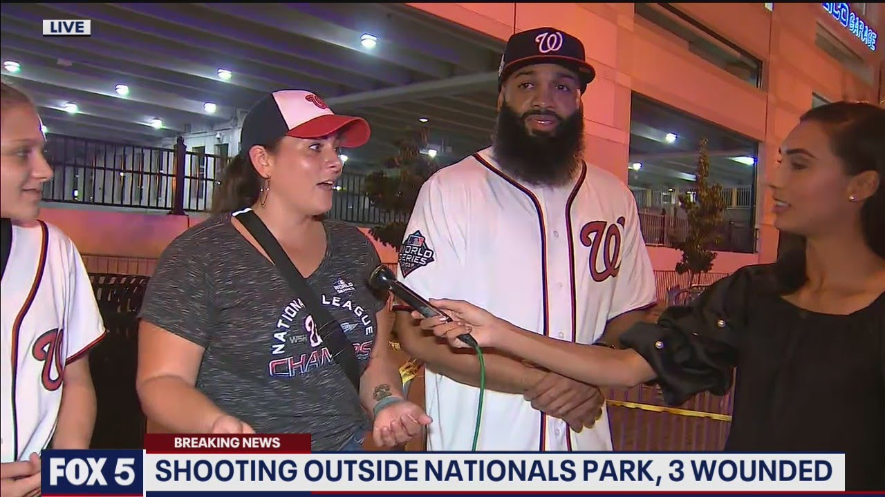 Download Fans react after Padres-Nats game suspended following shooting outside stadium | FOX 5 DC