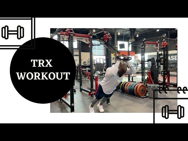 ABT- Athletic Based Training: TRX UpperBody Circuit