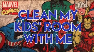 Clean With Me | Boys' Room