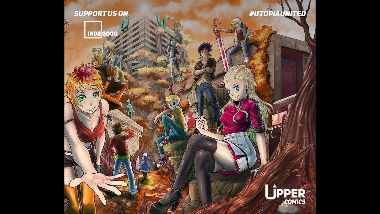 Utopia Project - Upper Comics | Indiegogo