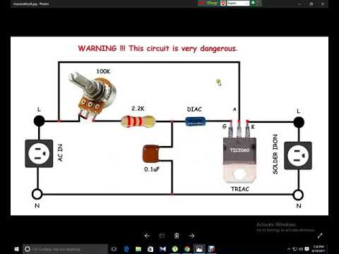 AC motor speed control circuit. how to make single phase motor speed control circuit