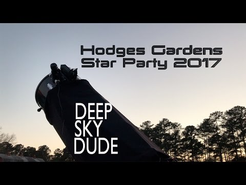 Hodges Gardens Star Party 2017
