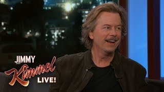 David Spade Missed the Super Bowl for Kimmel