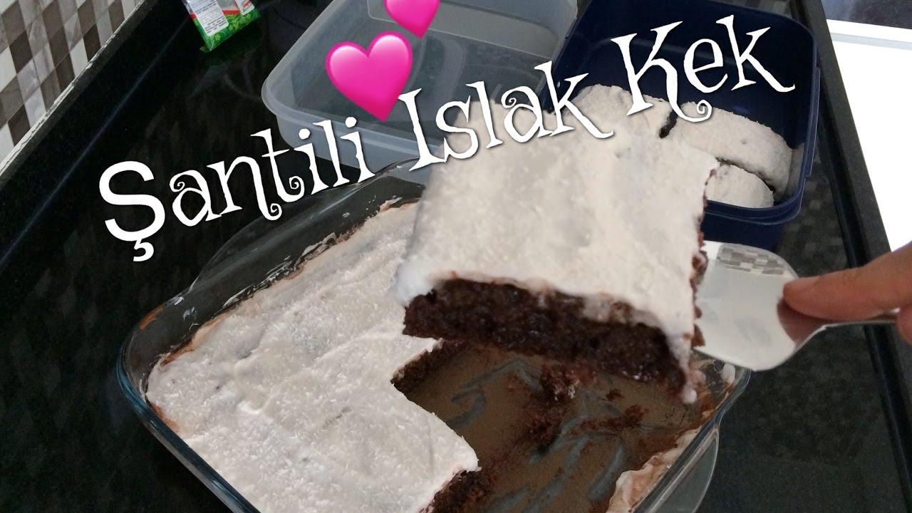 Krem Şantili Top Kek Videosu