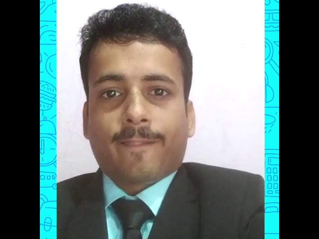 Sharing the video of one of our former students - Jitesh Jha.