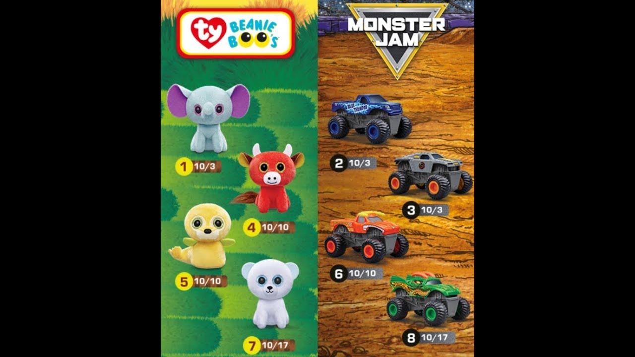 Taiwan has TY Teenie Beanie Boo and Monster Jam October 2018 Mcdonald s  Happy Meal Toys 5c16635d9eaa