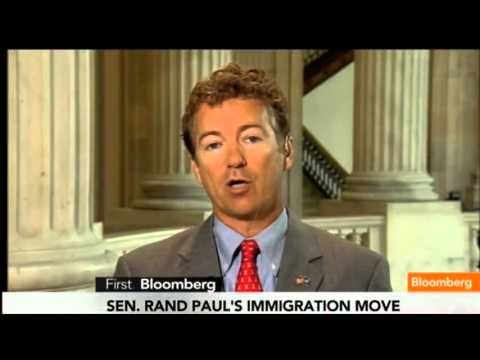 Rand Paul: Lack Of Border Security Is Immigration Bill's 'Fatal Flaw' - Bloomberg 6/18/2013