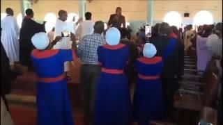 Jah Prayzah Sings In Church