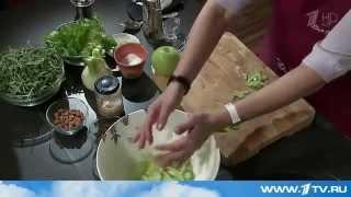 Салат из фенхеля с яблоком и миндалем от Ольги Баклановой (Вся Соль)