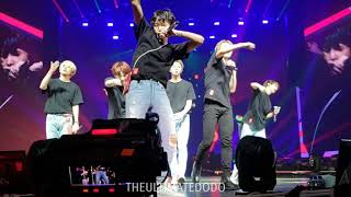 180915 Anpanman @ BTS 방탄소년단 Love Yourself Tour in Fort Worth Fancam 직캠