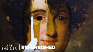 How Old Paintings Aŗe Professionally Restored   Refurbished
