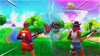 FORTNITE SEASON 6 OLD VS NEW Map Comparison & All New Battlepass Skins (Season 5 vs Season 6)