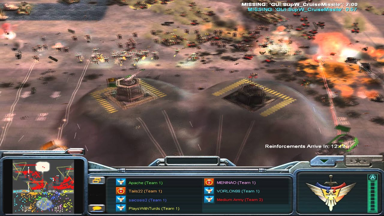 384 карты для command and conquer generals zero hour command and.