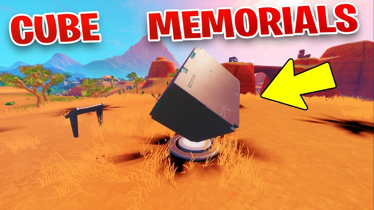 Visit Cube Memorials In The Desert And By A Lake Location Worlds Collide Week 3 Season 10