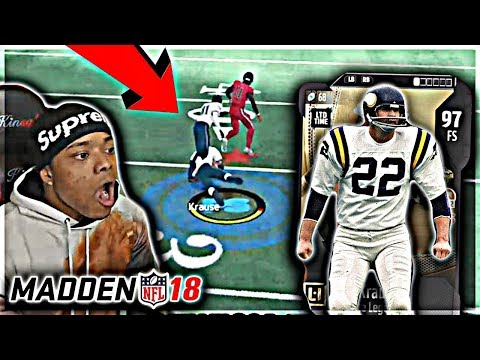 PAUL KRAUSE DEBUT! USER GOD IS BACK?! 😯 God Squad #34 | Madden 18 Ultimate Team Gameplay