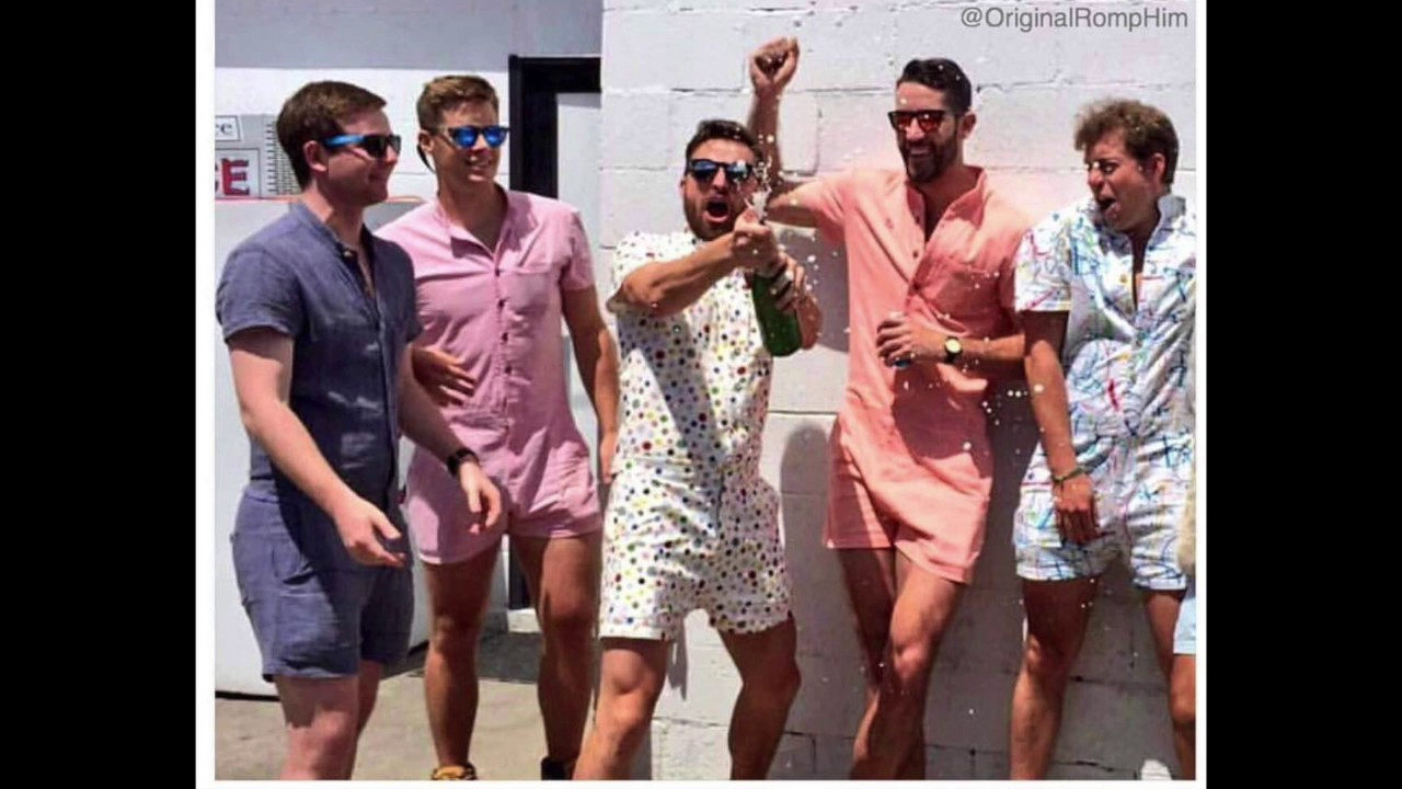 30bf64e2a21 Why Men Shouldn t Wear Rompers - YouTube