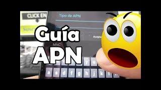 Guía para configurar APN de operadores Motorola Moto G X T1032 español comoconfigurar