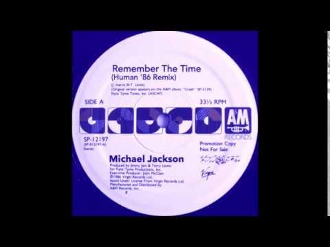 Michael Jackson - Remember The Time (Human '86 Remix) @InitialTalk