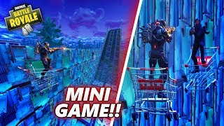 1 VS 1 SHOPPING CART MINIGAME IN PLAYGROUND!! 😱 - Fortnite Battle Royale (PLAYGROUND)