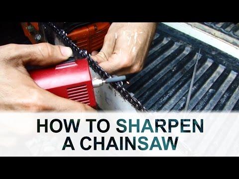 Chainsaw Sharpening 101