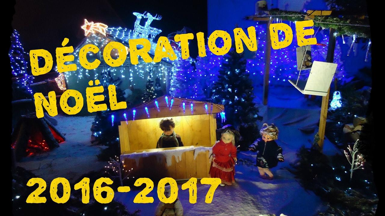 D coration de no l 2016 2017 youtube - Youtube decoration de noel ...