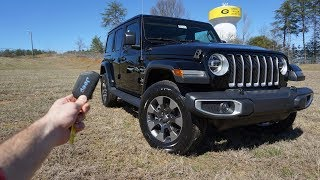 2018 Jeep Wrangler Sahara JL: Start Up, Walkaround, Test Drive and Review