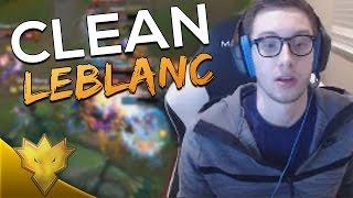 TSM Bjergsen - INFORMATIVE CLEAN LEBLANC! - LoL Funny Moments & Highlights
