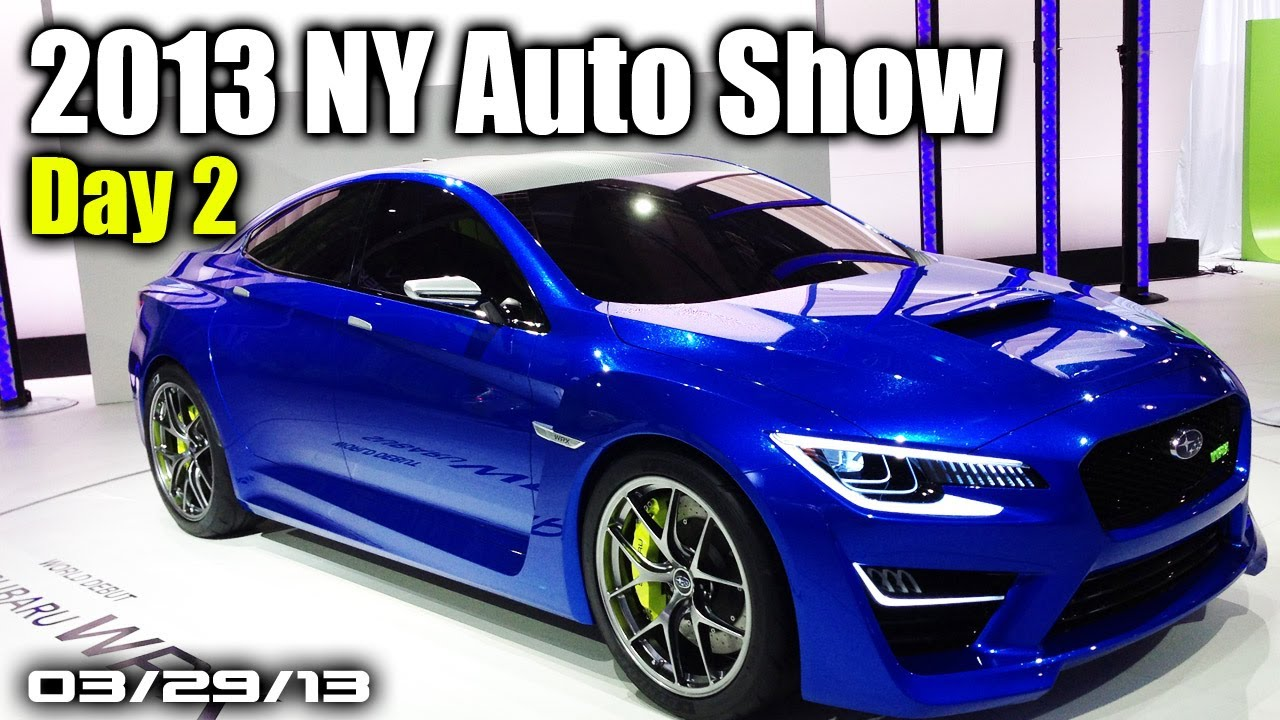 2013 NY Auto Show Day 2 - Audi A3 Sedan, Rolls Royce Wraith, New Cadillac CTS, & MUCH MORE!