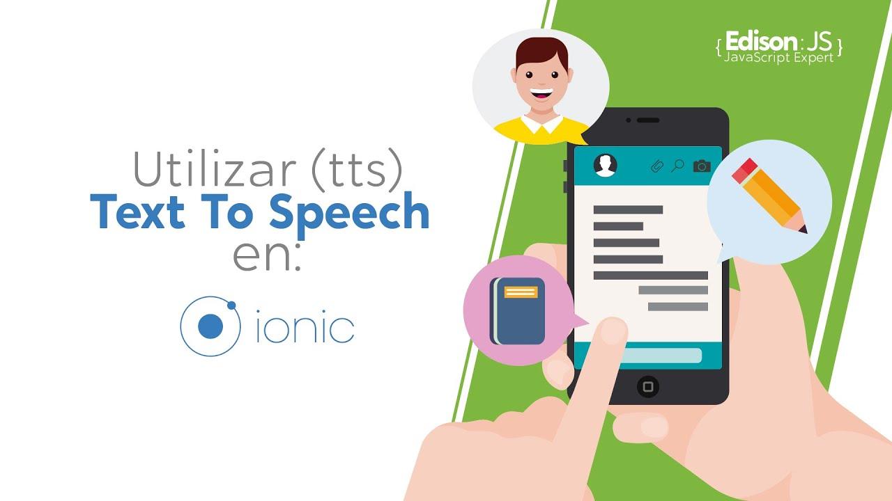 Como utilizar TTS (Text To Speech) en IONIC