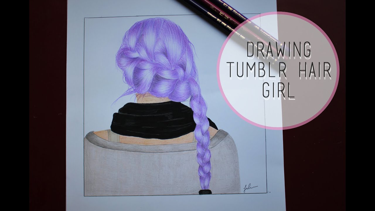 Drawing Tumblr Hair Girl