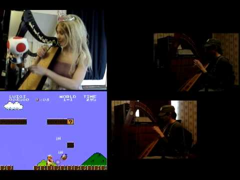 Super Mario Bros. In Harp