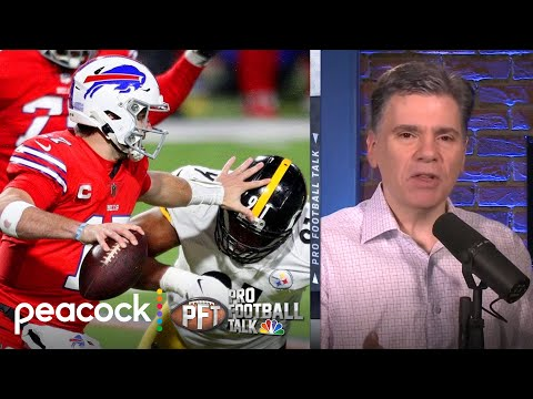 Josh Allen playing at elite level as Buffalo Bills knocks off PIT | Pro Football Talk | NBC Sports