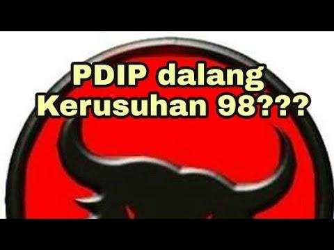 PDIP Dibalik Kerusuhan 98?