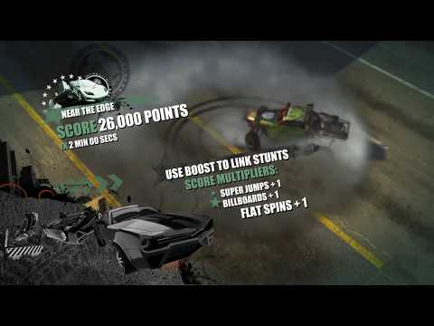 Burnout Paradise - Events:  Stunt Run Tips And Tricks