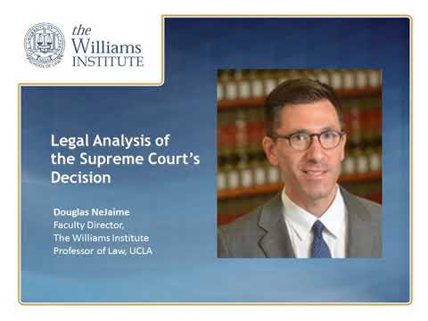 Webinar: Supreme Court Decision on Marriage Equality