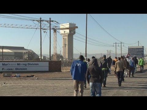S.Africa platinum miners back to work after wage deal
